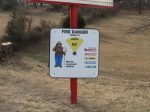 Smokey the Bear Sign - Testimonials Page